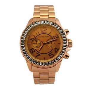 Reloj Michael Kors En Acero Ajustable Con Fecha Liquidacion