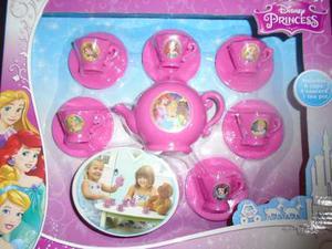 Set De Te Para Niñas Juego Princesas Disney