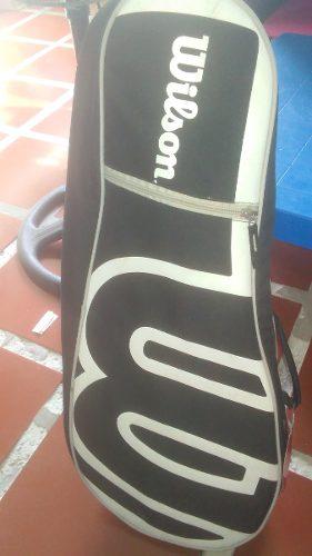 Bolso Para Raquetas De Tenis Marca Wilson Original