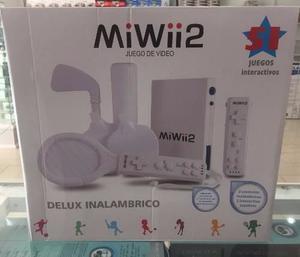 Consola De Video Juegos Nintendo Miwii 2