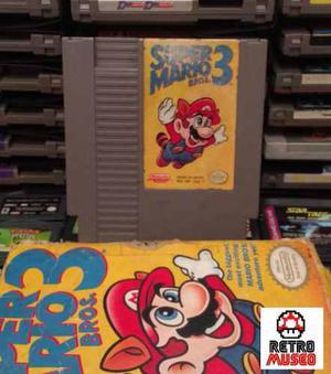 Super Mario Bros 3 Con Caja Y Manual