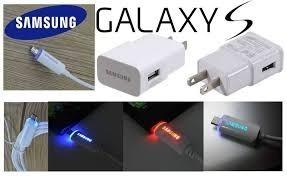 Cargador Samsung Original 2amp Nuevo Con Luz Led S6 S5 S4 S3