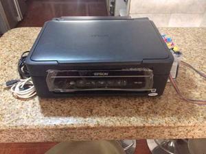 Impresora Multifuncional Epson Xp-201 Con Sistema De Tinta