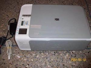 Impresora Multifuncional Hp C Sin Cartuchos Como Nueva