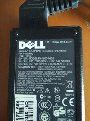 Cargador De Laptop Dell Original Pa-16 Family Completo