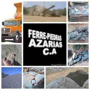 Piedras Decorativas Lajas, Arena Cernida, Lavada Etc...