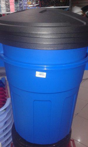 Pipote Azul Marca Manaplas De 85 Litros Buena Calidad