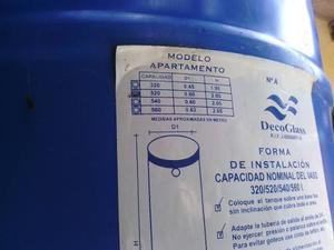 Tanque Para Agua Deco Glass 520 Lt