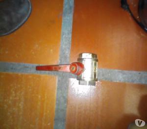 llave de bola de paso alta presión de 1 14 importada