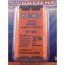 Batería Teléfono Inalambrico Kt-380 Al Mayor Y Detal