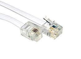 Cable Telefonico Rj11 Para Punto De Venta, Fax,,modem