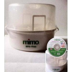 Esterilizador De Teteros Para Microondas Mimo Con Pinza