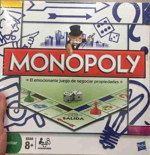 Juego De Mesa Modular Monopolio 100% Original Sellado