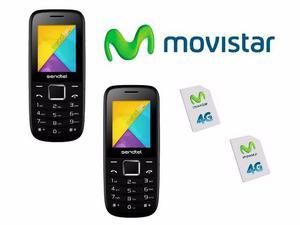 Mini Telefono Fijo Movistar, Solo Empresa Y Profesionales