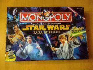 Monopolio Star Wars Original Saga Hasbro Juego Vendo Cambio