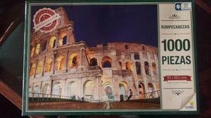 Rompecabezas De  Piezas Coliseo De Roma