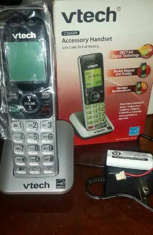 Telefono Auxiliar Inalambrico De Marca Vtech, Modelo Cs.