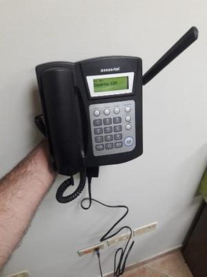 Teléfono Axess-tel Local Fijo Nuevo Digitel Y Repuestos