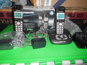 Teléfono Inalámbrico Panasonic Con Auxiliar