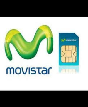 Vendo Línea Movistar (028xx) Para Celular O Fijo
