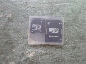 Adaptador Para Memoria Micro Sd Sin Memoria