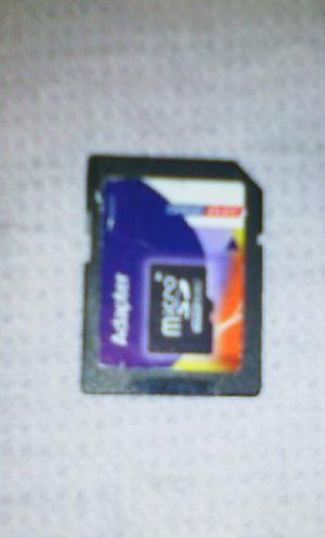 Adaptardor De Memoria Micro Sd Y Cassette A60 Viejo