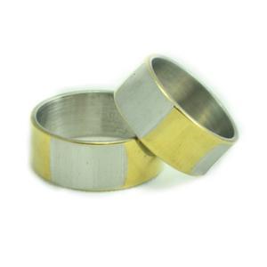 Anillos Aros De Matrimonio Compromiso Acero Primera Parte