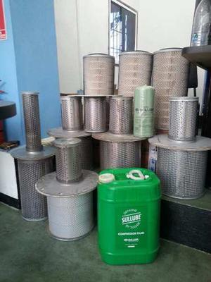 Filtros Para Compresores De Tornillos Atlas Copco Sullair
