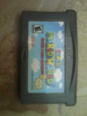 Juego Mario Advance 2(mario World)para Gameboy Advance Y Nds