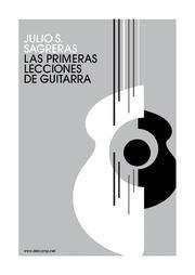 Julio Sagrera Primeras Lecciones De Guitarra