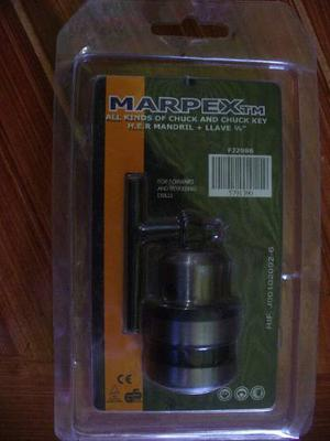 Mandril Con Llave Para Taladro De mm Marpextm