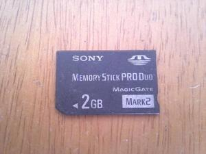 Memoria Pro Duo Sony