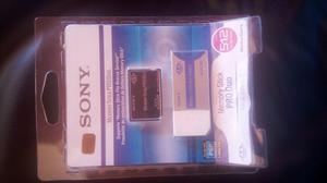 Memory Stick Pro Duo Sony 512mb Mas Adaptador