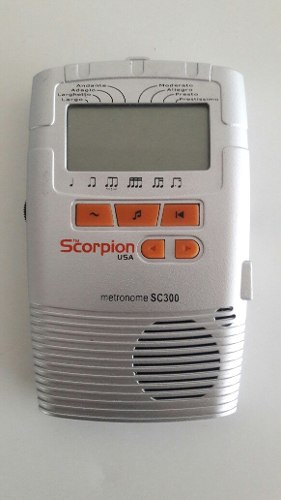 Metrónomo Digital Marca Scorpion (usa) Modelo Sc300