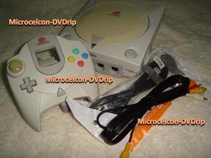 Sega Dreamcast Con Chip Dual Bios Y Más 3. No Mas Discos!!