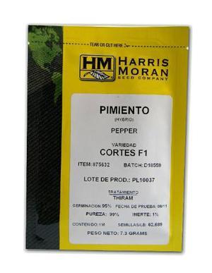Semilla De Pimenton Cortes F1 Hibrida. 10gr