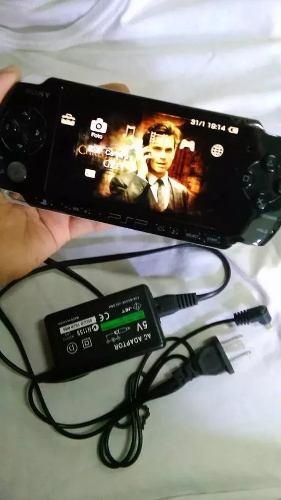 Sony Psp  Original + 3 Juegos Originales, Estuche Y Carg