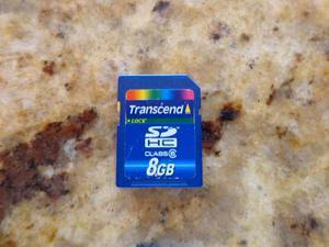 Tarjeta Sd 8gb Transcend Class 6 Memoria