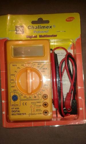 Tester Multimetro Digital.