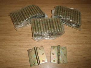 Visagras 2 1/2 X 2 1/2 Metalicas Para Puertas De Madera