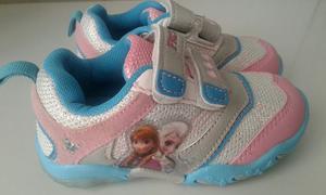 Zapatos Deportivos De Frozen Con Luces