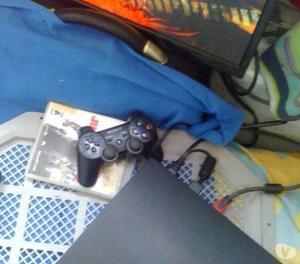 playstation 3 de 160 gb con 1 juego y 1 control