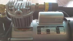 Compresor De Aire Portatil 1 Hp Con Pedal