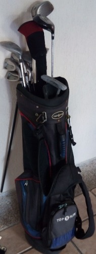 Juego Completo De Palos De Golf. Con Bolso Top Flite.