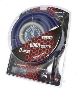 Kit De Cables (Orion) Para Instalacion De Sonido (Cero)