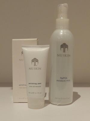 Nuskin Polishing Peel Nu Skin Polishing + Napca Mist Face