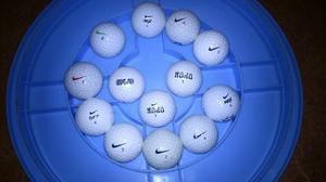 Pelotas De Golf Nike Usadas En Excelente Estado