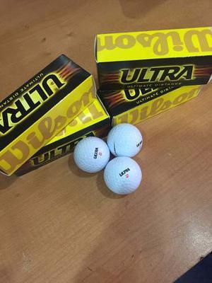Pelotas De Golf Wilson Ultra Paquete De 3 Unidades