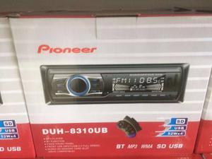 Reproductor Pioneer Bluetooth,usb,sd,mp3,wma, Radio Duhu