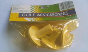 Tee De Goma Base Para Pelotas De Golf